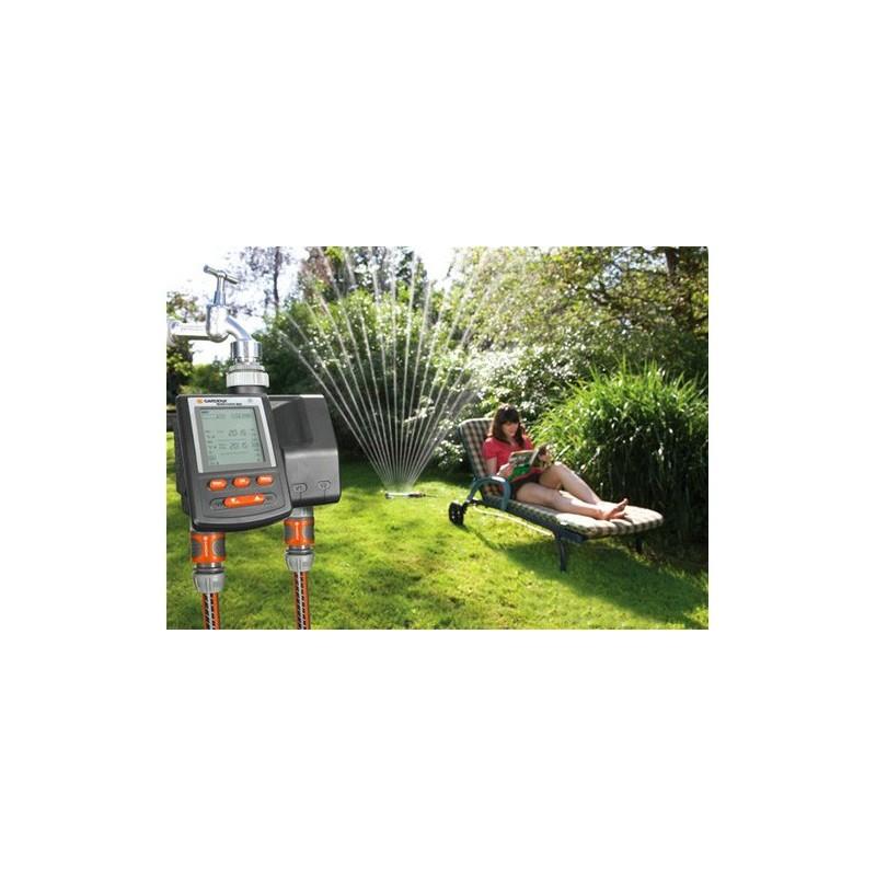Programmateur d 39 arrosage c 2030 duo plus for Accessoires arrosage jardin