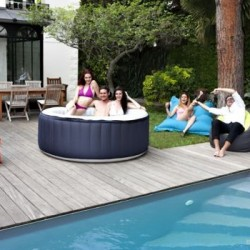 Spa Jacuzzi Gonflable SPARK 4 places Toile