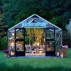 Serre en verre trempé Gardener 18,8m²