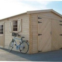 GARAGE Traditionnel 17,07 m² avec double porte