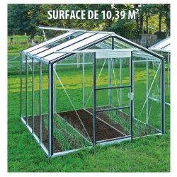Serre de jardin en verre trempé Royal 26 - 10,39 m²