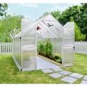Serre Essence en polycarbonate 8,8 m²