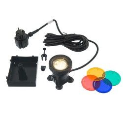 Spot de bassin AquaLight 60 LED 4 couleurs par lampe