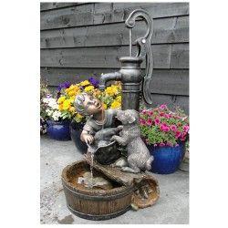 Fontaine de terrasse Regina avec pompe
