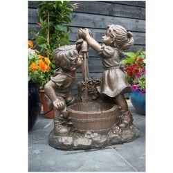 Fontaine de terrasse Memphis avec pompe