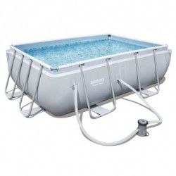 Kit Piscine Rectangulaire Power Frame Pools L 282 x l 196 x H 84cm
