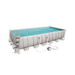 Kit Piscine Rectangulaire Power Steel Frame Pools L 732 x l 366 x H 132 cm