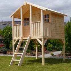 Aménager votre jardin avec des maisons pour enfants. Ces jeux de plein air vont faire plaisir à vos enfants et ils pourront se dépenser en toute sécurité. Cette maisonnette ou cabane en bois permettra à vos enfants de se créer plein de belles histoires avec leur amis.